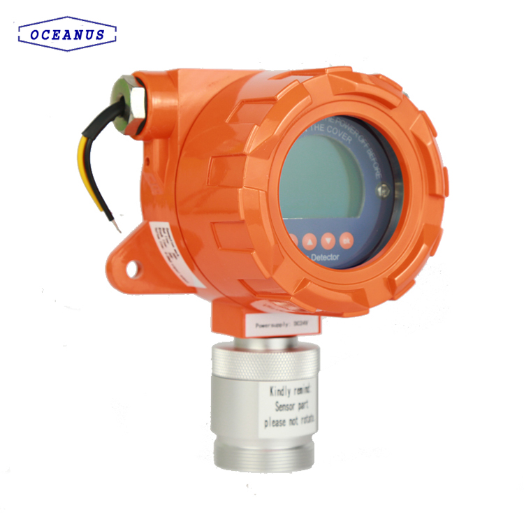 OC-F08 Online type Chlorine CL2 gas alarm with high sensitivity
