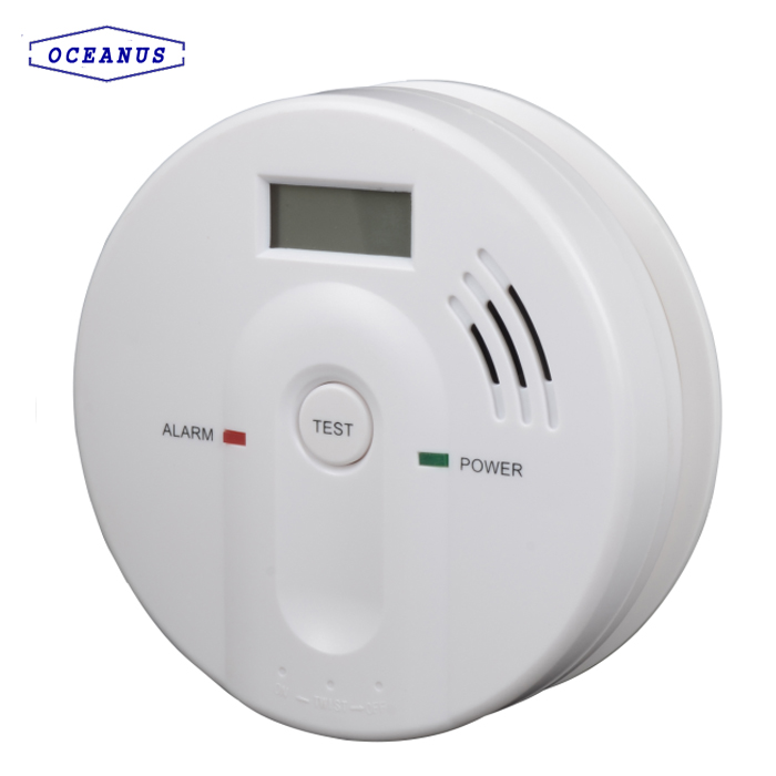 603 Carbon Monoxide CO detector with DC 9V battery