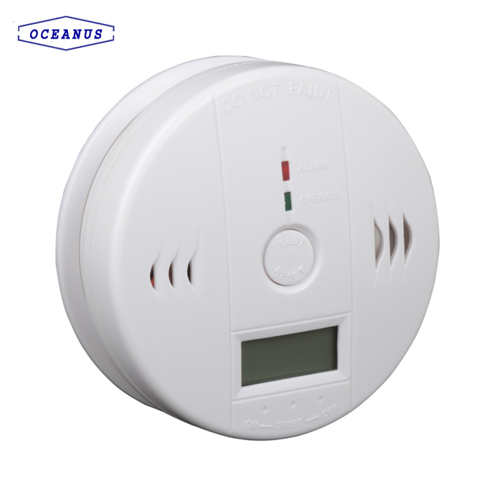 602 Carbon Monoxide CO gas detector with 3*1.5V AA batteries
