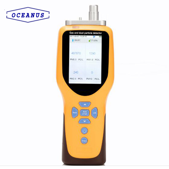 OC-300 Portable Laser particle counter with optical sensor