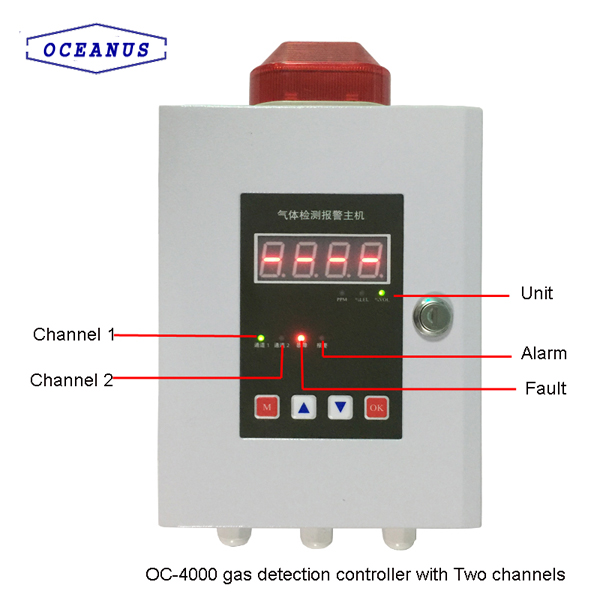 OC-4000 Gas Inspection Controller With LED Display