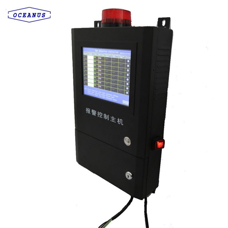 OC-8000 Gas Detection Controller With New Design Of Touch Screen