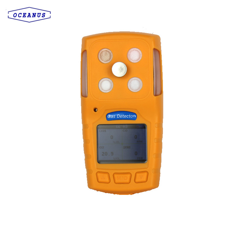 OC-904A Portable Multi Gas Detector For NH3, H2S, Ex